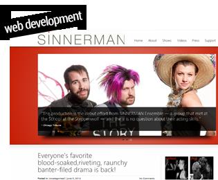 Sinnerman Ensemble Website